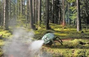 Crean un escarabajo robot para combatir incendios