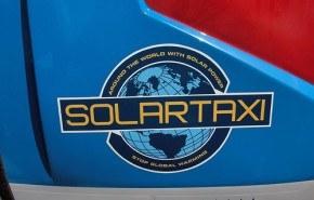 Un taxi solar como alternativa ecológica