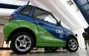 REVA, un coche eléctrico de cero emisiones que llega a Chile