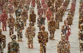 Trash People: obra ambientalista en Barcelona
