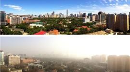 Prohíben el uso del coche en Pekín y luce el sol después de muchos años