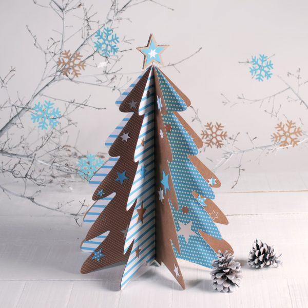 decoracion-navidena-colgantes-adornos-reciclados-carton-papel-higienico