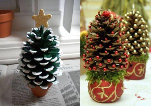 decoracion-navidena-con-materiales-reciclados-con-pinas