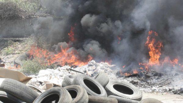 El Medio Ambiente industria tóxica
