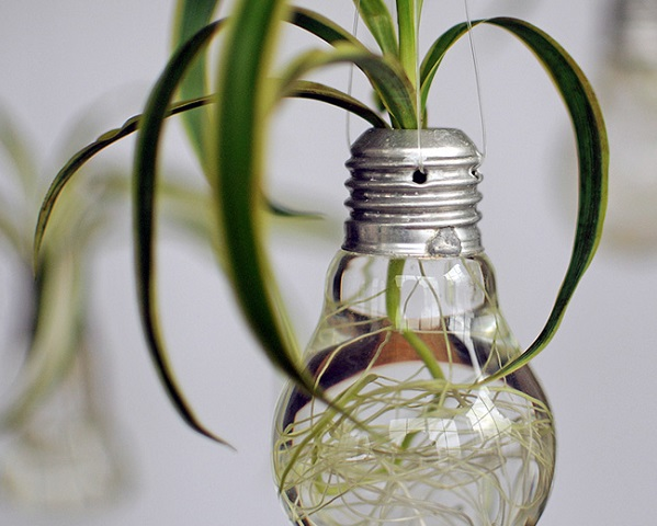 De 20 bonitas maneras de decorar tu casa con plantas de interior - Macetas para plantas de interior ...