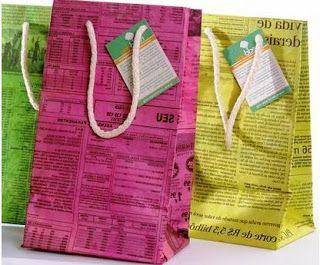 como-hacer-bolsas-de-papel-con-material-reciclado-periodicos-colores