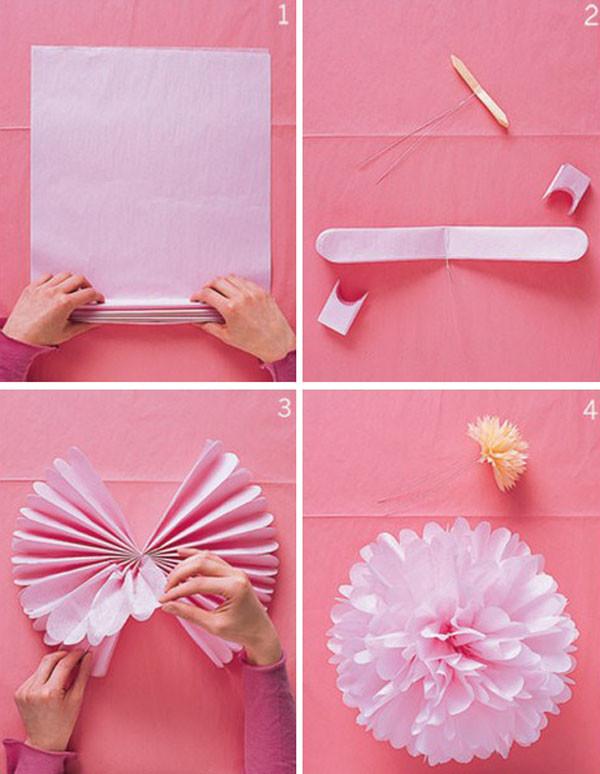 como-hacer-pompones-con-material-reciclado-papel-de-seda