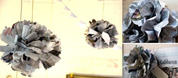 como-hacer-pompones-con-material-reciclado-periodico