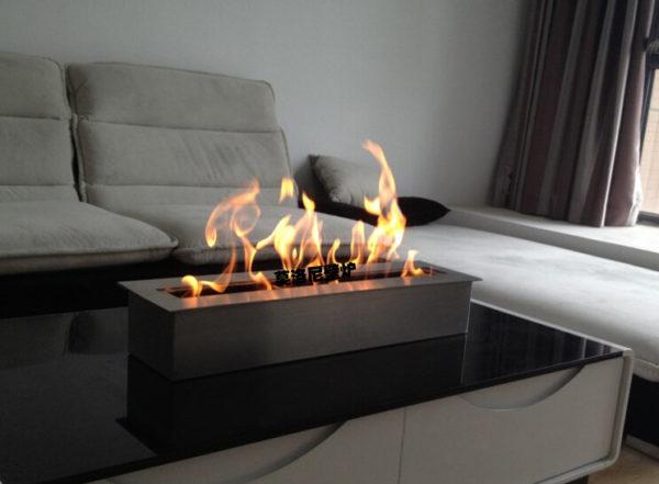 Las chimeneas un toque de elegancia para tu hogar for Chimenea de gas en un piso