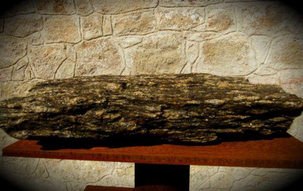 Esquisto, roca sedimentaria de querógeno