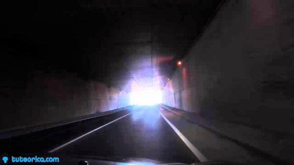 contaminacion-luminica-espana-deslumbramiento-tunel