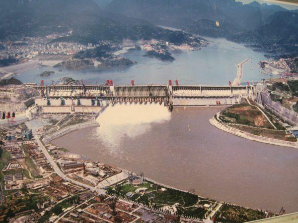 Presa sobre el río Yangtsé de China