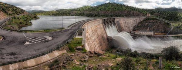 Panorámica del pantano del Montoro - Puerto Llano