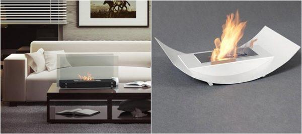 Diseños más pequeños, fáciles de llevar de una habitación a otra