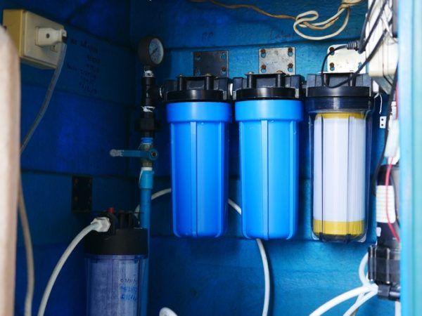 Como transformar agua salada en agua potable osmosis inversa