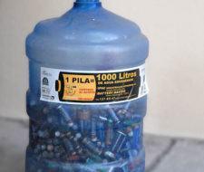 Más de mil pilas encontradas en el arroyo del Medio