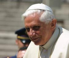 Benedicto XVI insiste con su mensaje ecológico