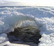 Un puente de hielo en Nueva York para evidenciar el cambio climático