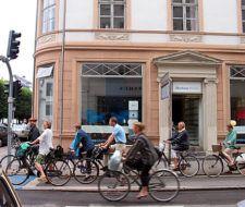 Copenhague tiene más bicicletas que autos en horas pico