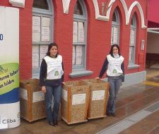 Reciclaje de envases y solidaridad en Buenos Aires