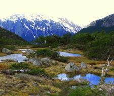 Desaparece un lago en Chile