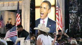 Barack Obama y una convención verde