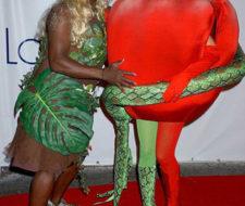 Heidi Klum festeja Halloween con conciencia ambiental