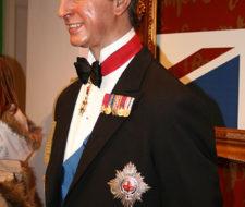 En el Museo de Cera de Londres, el príncipe Carlos es una escultura ecológica