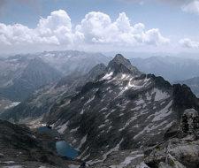 Las cordilleras más afectadas por la acción humana son los Pirineos y los Alpes