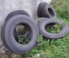 Qué hacer con los neumáticos usados