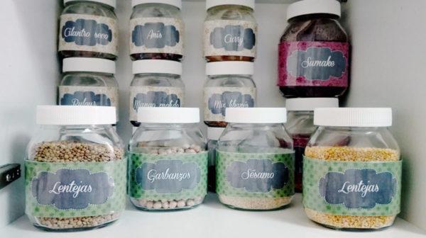 ideas para decorar tarros de cristal o botes de vidrio almacenaje - Botes De Cristal Decorados