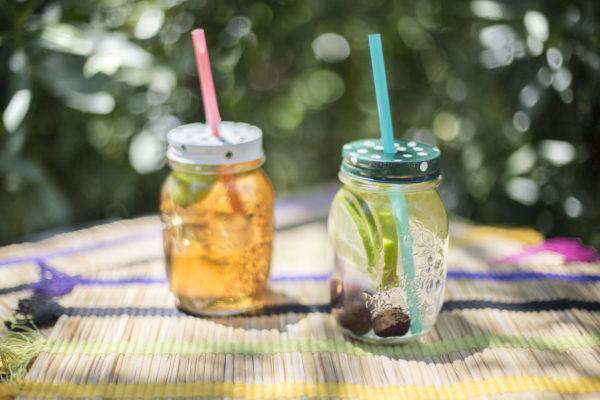 Reciclaje ideas para decorar tarros de cristal o botes de vidrio - Vasos grandes cristal ...