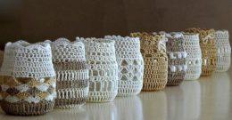 Reciclaje: ideas para decorar tarros de cristal o botes de vidrio