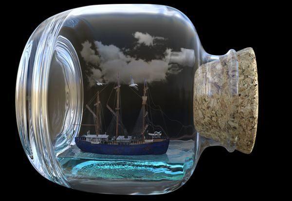 como-decorar-botellas-de-cristal-o-de-vidrio-barco