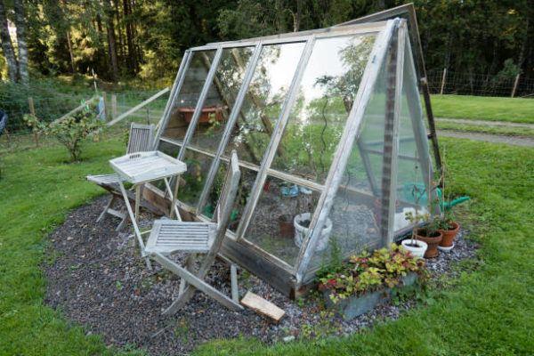 Ideas invernadero casero ventanas