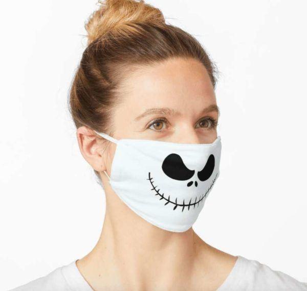 Manualidades de Halloween con rollos de papel higiénico Calavera