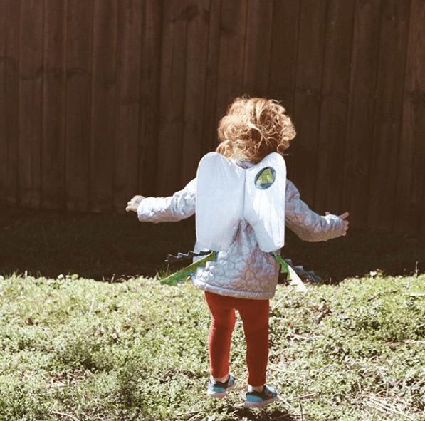 Halloween ecológico 2020 cohete infantil