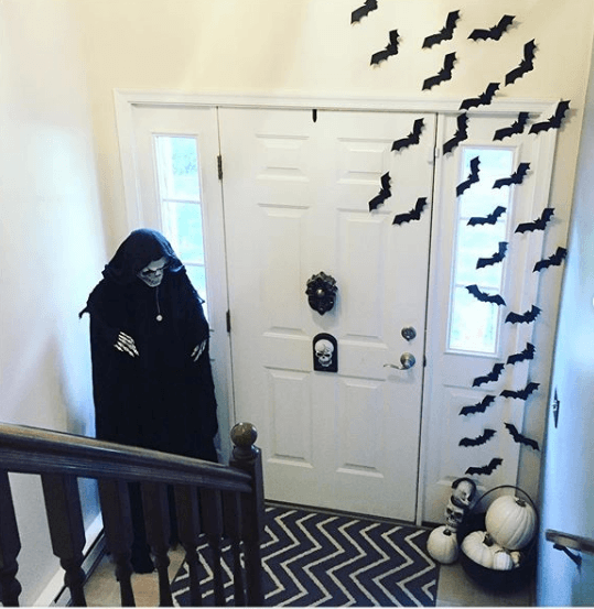 Halloween ecológico 2020 decoración interior