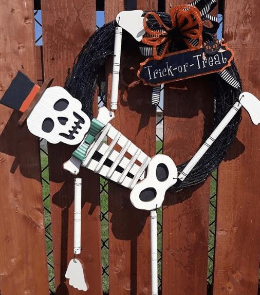 Halloween ecológico 2020 decoración cartón