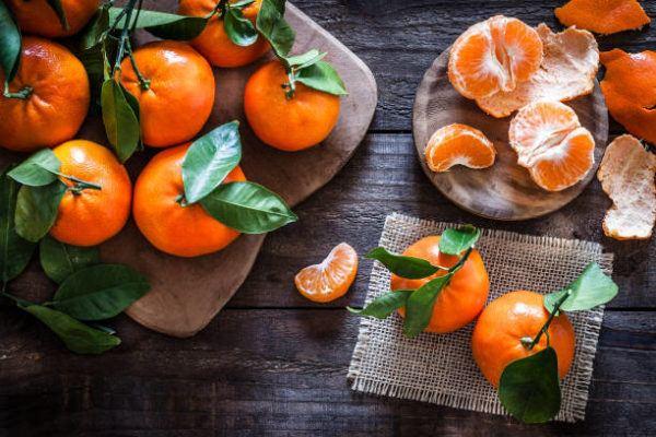 Cuales son los frutos de otono mandarina
