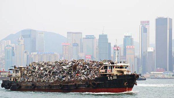 Que esta pasando con todos desechos reciclados que ahora no se envian a china