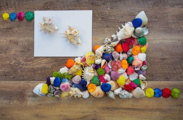 manualidades-dia-del-medio-ambiente-conchas-pintadas-istock