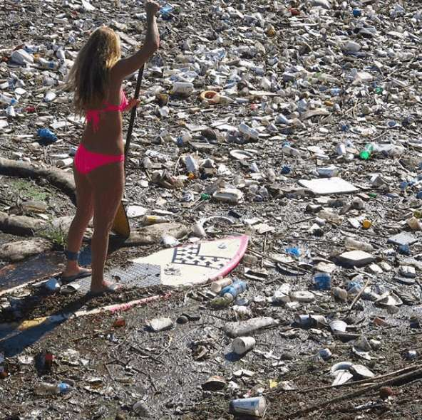El Medio Ambiente contaminación mares