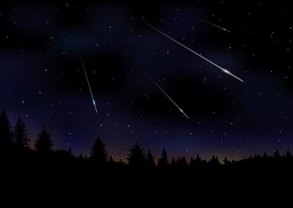Lluvia estrellas leonidas 2022 es como donde