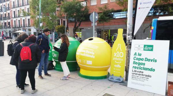 El Reciclaje contenedores ciudad