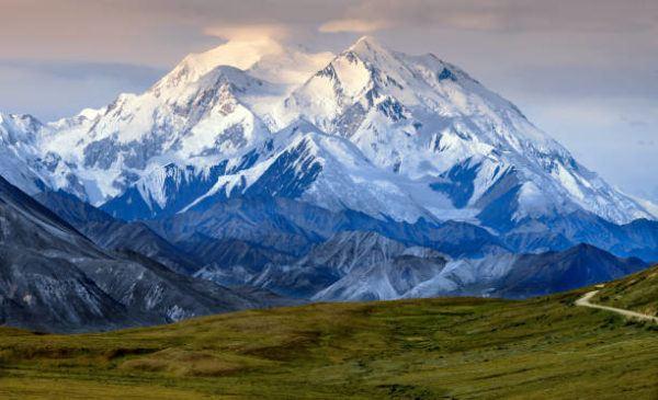 Los lugares frios del planeta Denali en Alaska