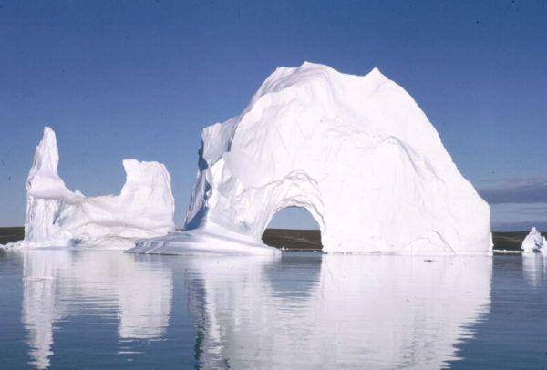 Los lugares frios del planeta Eismitte en Groenlandia