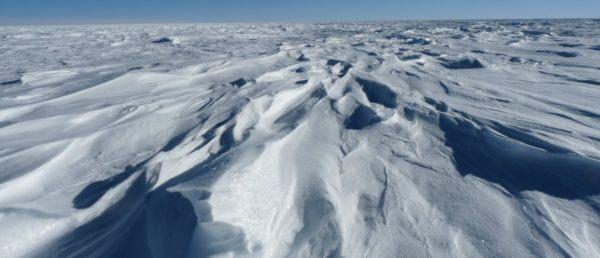 Los lugares frios del planeta Fuji Dome en la Antártida