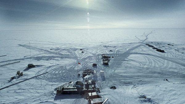 Los lugares frios del planeta Vostok en la Antártida
