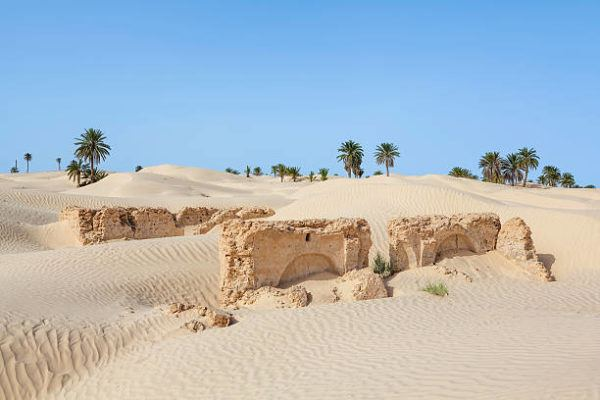 Los lugares mas calurosos del planeta Kebili Túnez